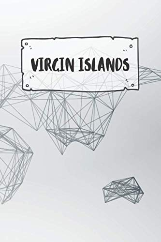 Virgin Islands: Ruled Travel Diary Notebook or Journey  Journal - Lined Trip Pocketbook for Men and Women with Lines - Virgin Islands
