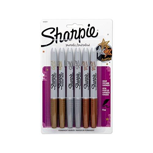 sanford-ink-sharpie-metallic-fine-point-permanent-markers-gold-silber-und-bronze