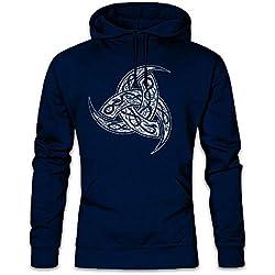 Odhins Horns Ornaments Hoodie Sudadera con Capucha Sweatshirt Tamaños S – 2XL