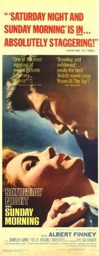 Saturday Night and Sunday Morning Plakat Movie Poster (14 x 36 Inches - 36cm x 92cm) (1961) Insert