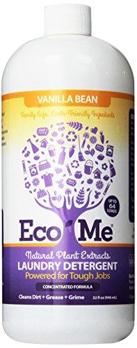 Eco-Me Laundry Detergent, Vanilla Bean, 32 Fluid Ounce