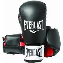 Everlast Rodney - Guantes de boxeo, color negro, talla 16oz