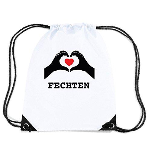JOllify FECHTEN Turnbeutel Tasche GYM6233 - Design: Hände Herz -