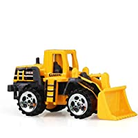 Construction Excavator Car Toys Push and Go Car Vehicles Toys for Kids 1PC(Bulldozer)
