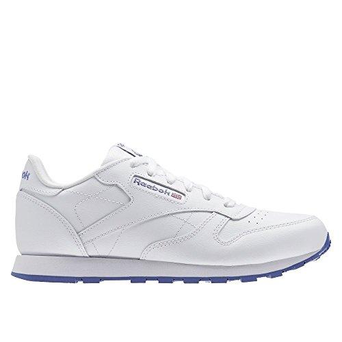 Reebok Classic Leather Champ niños zapatilla de deporte azul AR2033, Size:36.5