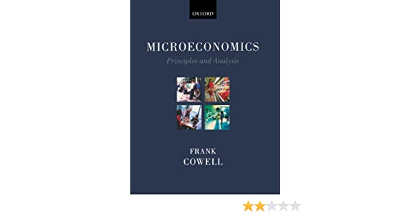 Microeconomics - Principles And Analysis