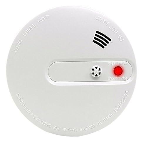 Xcellent Global Optoelektrischer Rauch- und Wärmemelder Feueralarm mit Stimme und