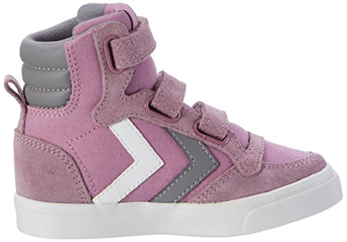 Hummel Mädchen Stadil Canvas High-Top Pink (Orchid Hace)