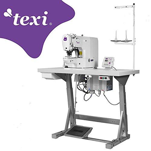 texi Cerrojo la Industria Máquina de Coser-electrónico-de la Industria de Coser industriales-Completo (con Mesa y Estructura)