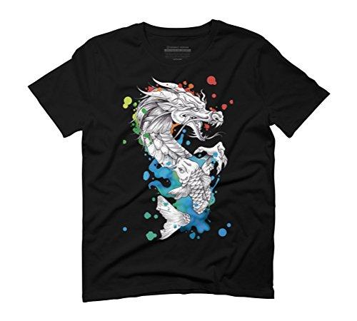 metamorphosis Men's Graphic T-Shirt - Design By Humans Black