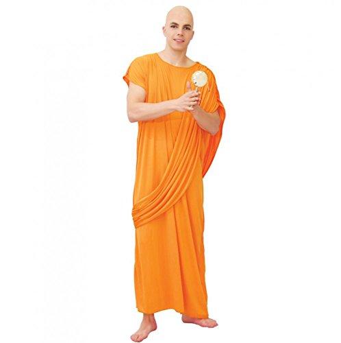 KOSTÜM - MÖNCH - Größe 52-54 (L), Hare Krishna Religion religös Buddhistisches Mönchtum Asiatisch (Krishna Kostüm Hare)