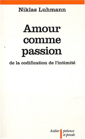 Amour comme passion
