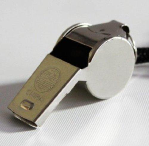 Preisvergleich Produktbild 5er Pack Trillerpfeifen Signalpfeifen Metall mit Kordel Schiedsrichterpfeife,  5 / 0405