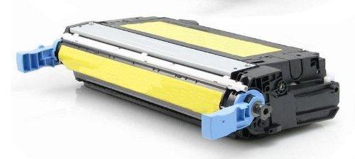 Eurotone Toner Cartridge XL Yellow kompatibel remanufactured für HP CLJ CP4005 CP4005N CP4005DN - Color Laserjet CP 4005 N DN 4005N 4005DN ersetzt CB402A Gelb XXL - Clj Cp4005 Serie
