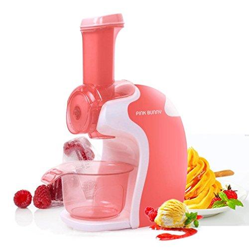 DZW Machine de fabrication de crème glacée aux petits fruits au lait Type de bricolage maison en poupe pour cuisine maison , pink , 355*240*115qualité