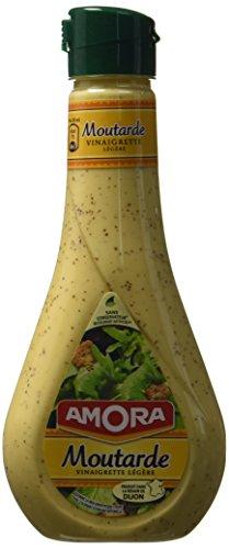 Amora Vinaigrette Moutarde 450 ml - Lot de 6