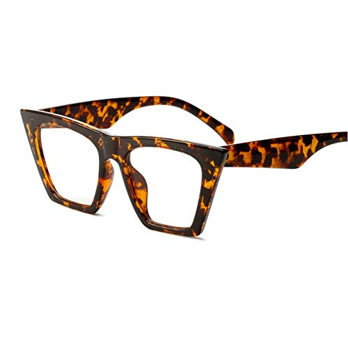 GBST Europe and America Explosion Models Narrow Square Modern Retro Square Ms. Trend Street Models Walk Sunglasses Smu55T Jw,Leopard