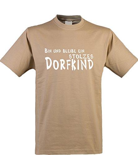 Klamottenkiste24 Herren T-Shirt, Bin und Bleibe, Kit, Gr. ()