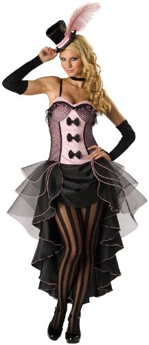 Incharacter in Charakter Kostüme LLC Burlesque Babe Erwachsene Kleid Pink/Schwarz (Incharacter Kostüme Llc)