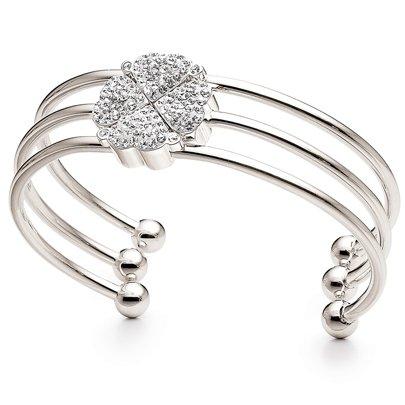 folli-follie-heart-4-heart-silver-plated-crystal-bangle-50101584