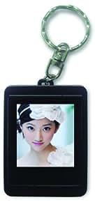 Technaxx Keypix Digitaler Mini Fotorahmen (3,8 cm (1,5 Zoll) Display, 8MB interner Speicher) schwarz