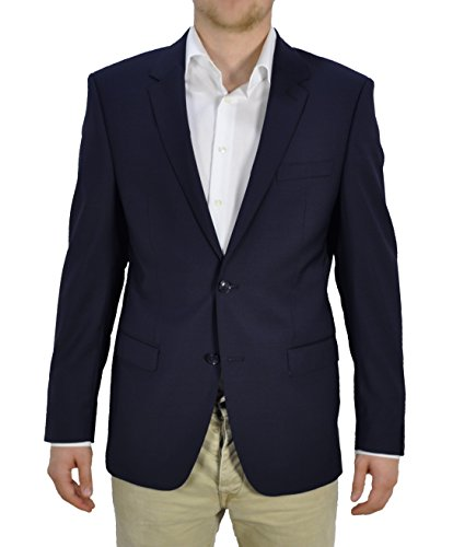 Michaelax-Fashion-Trade - Blazer - Uni - Homme Bleu - Blue - Blau (44)