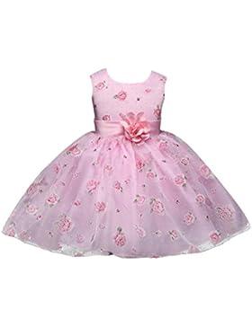 Vestido de fiesta para niñas Vestido de dama de honor de fiesta de princesa Formal vestido de niña de las flores...