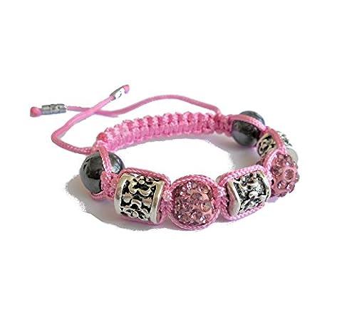 Shamballa Bracelet Enfant (Fille 6-12 ans)