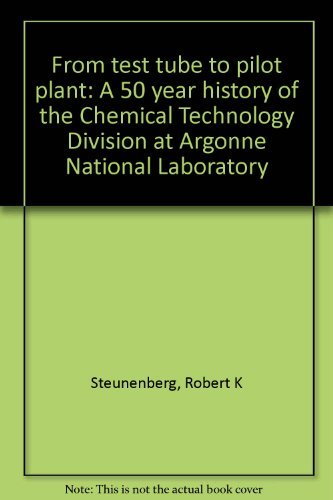 From test tube to pilot plant: A 50 year history of the Chemical Technology D...