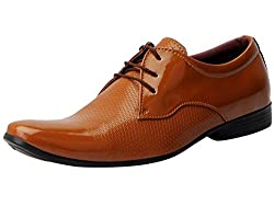 Fausto 5010-44 Tan Formal Lace Up