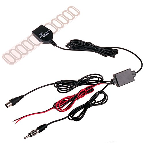 HitCar Antennen- Signal-Verstärker, für DVBT, ATSC, ISDB, FM-Radio, für Kfz-DVD-Player und Autoradios Atsc-tuner Dvd-player