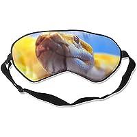 Schlafmaske, natürliche Seide, Augenbinde, super glatte Augenmaske (Tierschlangen) preisvergleich bei billige-tabletten.eu