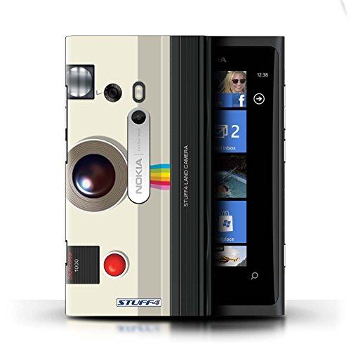 Kobalt® Imprimé Etui / Coque pour Nokia Lumia 800 / Caméscope conception / Série Appareil Photo Instantanée Retro