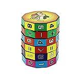 Kingwin 3D Digital Cube 6Schichten Intelligente Puzzle Funny-Kinder Bildung Cube