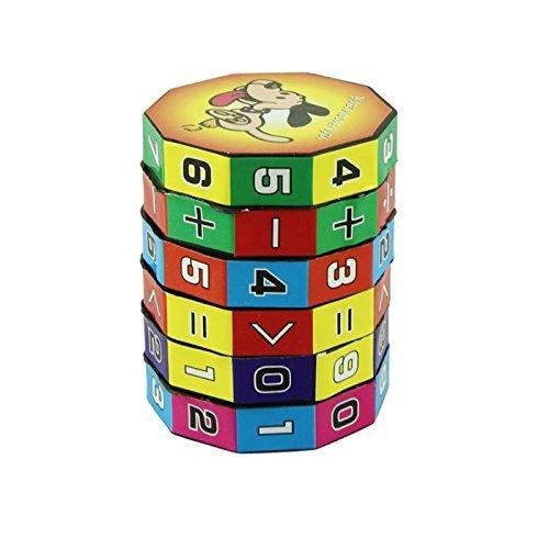 Foopp - Puzle de 6 capas para niños, diseño de cubo digital inteligente