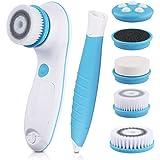 DBPOWER Cepillo Facial Eléctrico Limpiador 6 en 1 con Ajuste de 2 Velocidades para el Cuidado de la piel