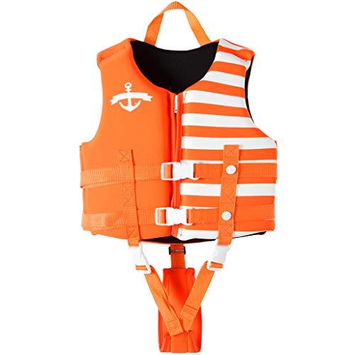 Kinder Schwimmweste Schwimmen Badeanzug - Jungen Mädchen Schweben Bademode Einstellbar Schwimmen Lernen Schwimmbad Tauchen Strand Surfen Sicherheitsgurt Orange Marine Blau Rot Schwarz Für 10-23KG -