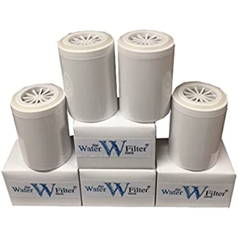 Inline - Cartuchos de repuesto para sistema de filtración de agua (4 unidades)