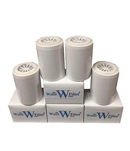 The Water Filter Men Inline - Cartuchos de Repuesto para Sistema de filtración de Agua (4 Unidades)