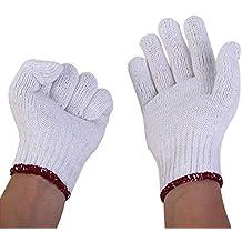 Tanxinxing Guantes de hilo de algodón Mano de obra Resistente a las manchas Lavable a máquina