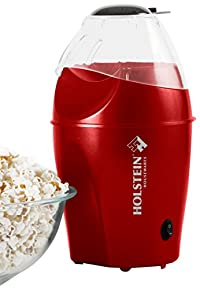 Holstein Housewares HU-09011R-M Hot Air Popcorn Maker - Red
