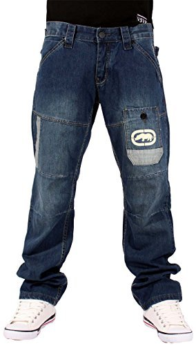 ecko-sovereign-star-mens-boys-jeans-time-is-g-money-denim-hip-hop-nappy-wear-w34-regular-approx-31