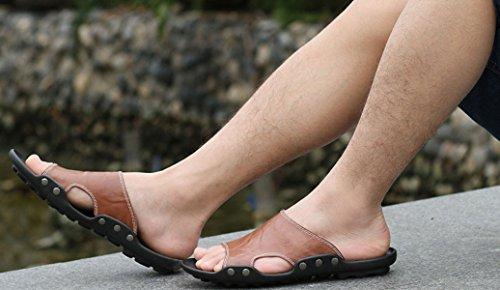 Herren Outdoor Waten Sandalen Strandschuhe Mehrfarbig Multi-size Brown