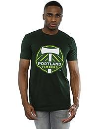 Majestic Homme MLS Portland Timbers Logo T-Shirt X-Large Forêt verte