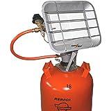 Estufa de infrarrojos a gas 3.5kg (bombona pequeña) para ...