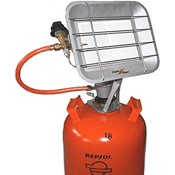 Com Gas 5000 5000-Estufa de Pantalla de Rayos Infrarrojos ...