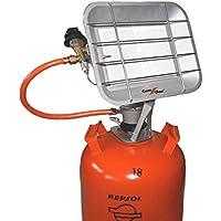 Com Gas 5000 - Estufa de Pantalla de Rayos Infrarrojos