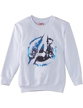 Marvel Jungen Sweatshirt Avengers Assemble Flared Logo