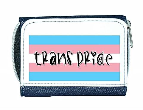 Trans Pride couleurs du drapeau Lgbt Support plastron Mesdames sac
