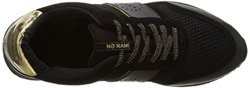 No Name Cosmo Jogger, Baskets Basses Femme Noir (Nappa/Black)